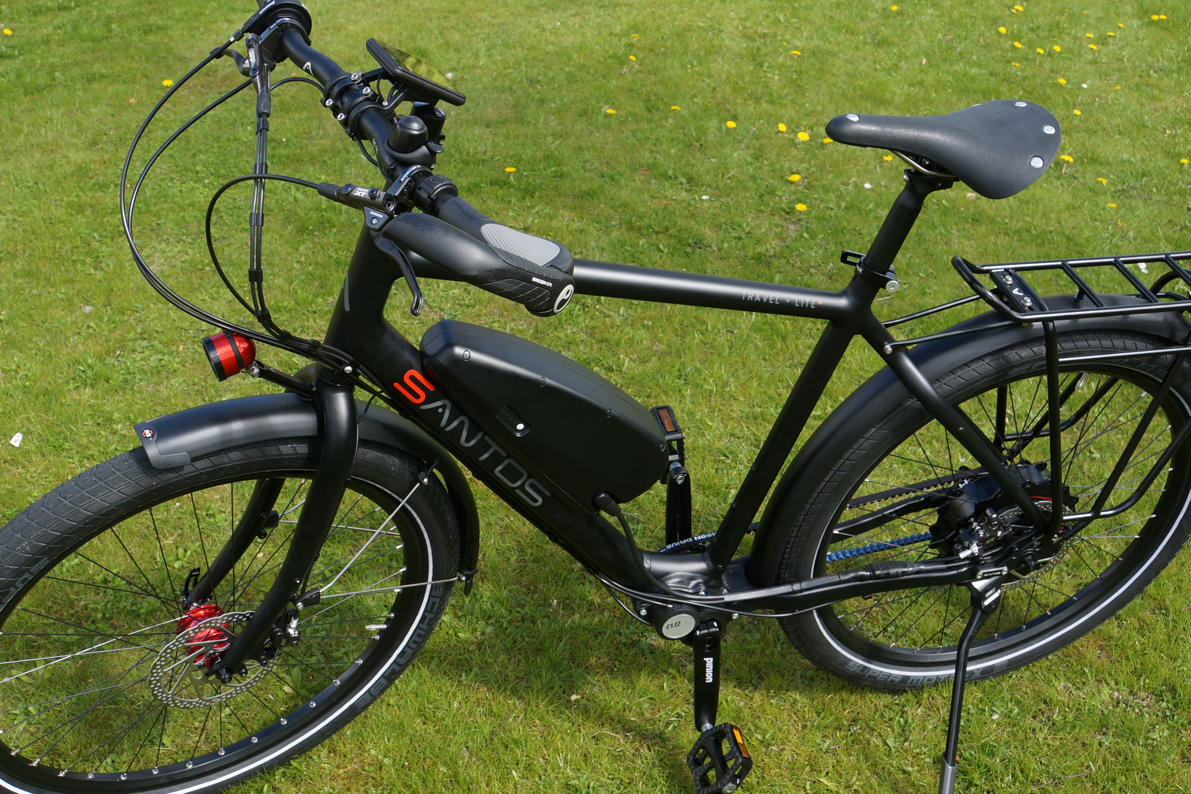 Santos Travel Lite+ E-bike vakantiefiets.