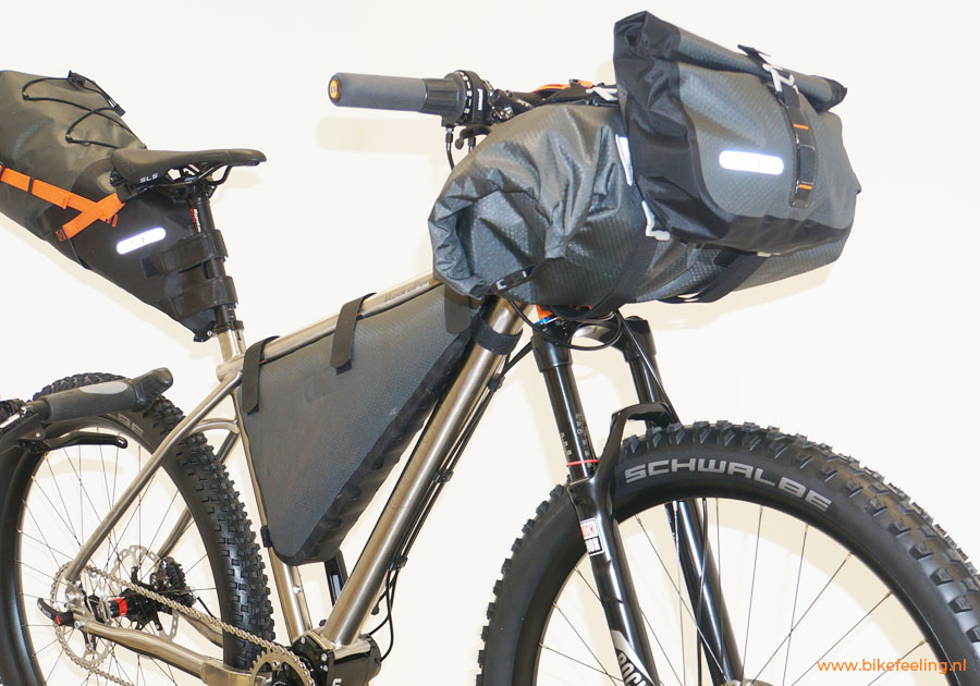 Bikepacking is Backpacken met de fiets!