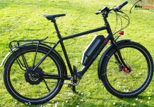 Santos Travel Lite plus met NeoDrive Z20 E-bike systeem.